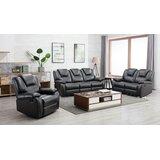 Horka 3 Piece Reclining Living Room Set by Red Barrel Studio®
