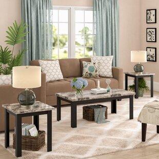 Granite Coffee Table Sets Youll Love Wayfair