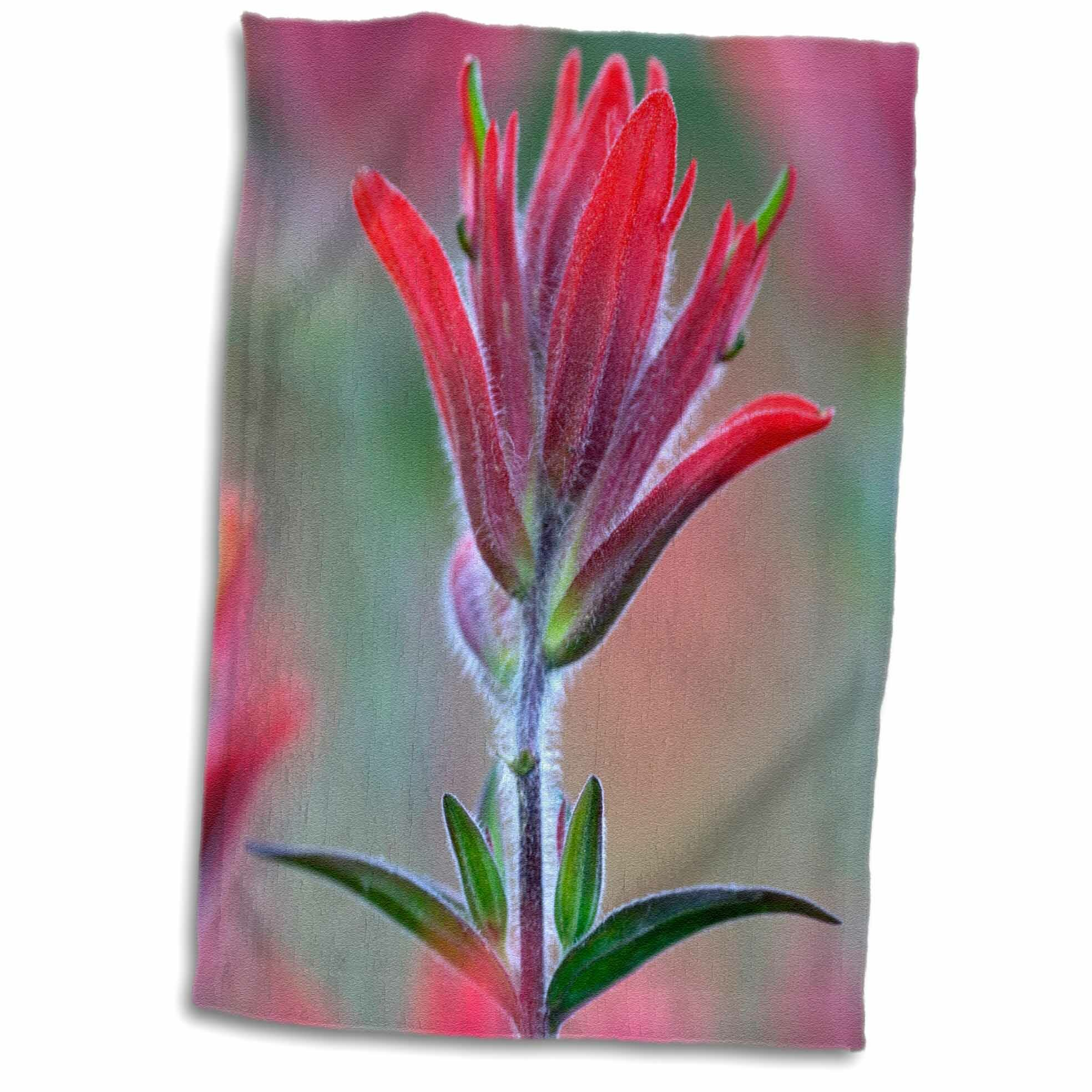 """2 x 16"""" Flower Power Scarlet Cushion Covers"""