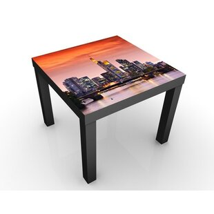 Frankfurt Skyline Side Table By 17 Stories