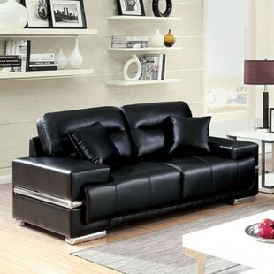 Zablotny Cozy Leather Loveseat