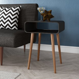 Hallandale Side Table With Storage By WerkStadt