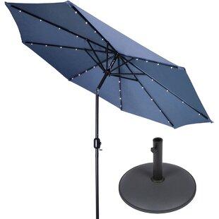 9' Lighted Umbrella b..