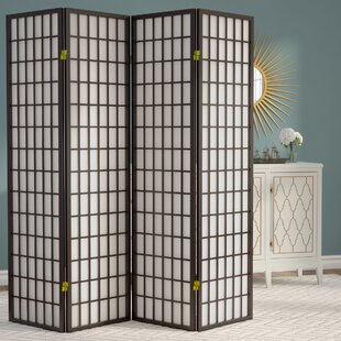 Boddington Shoji Syle 705 X 68 4 Panel Room Divider By World