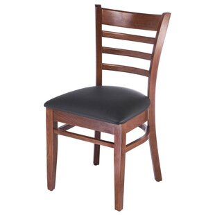 Jiron Ladder Back Solid Wood Dining Chair (Set of 2)