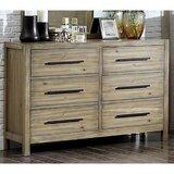 Topsfield 6 Drawer Double Dresser by Three Posts™