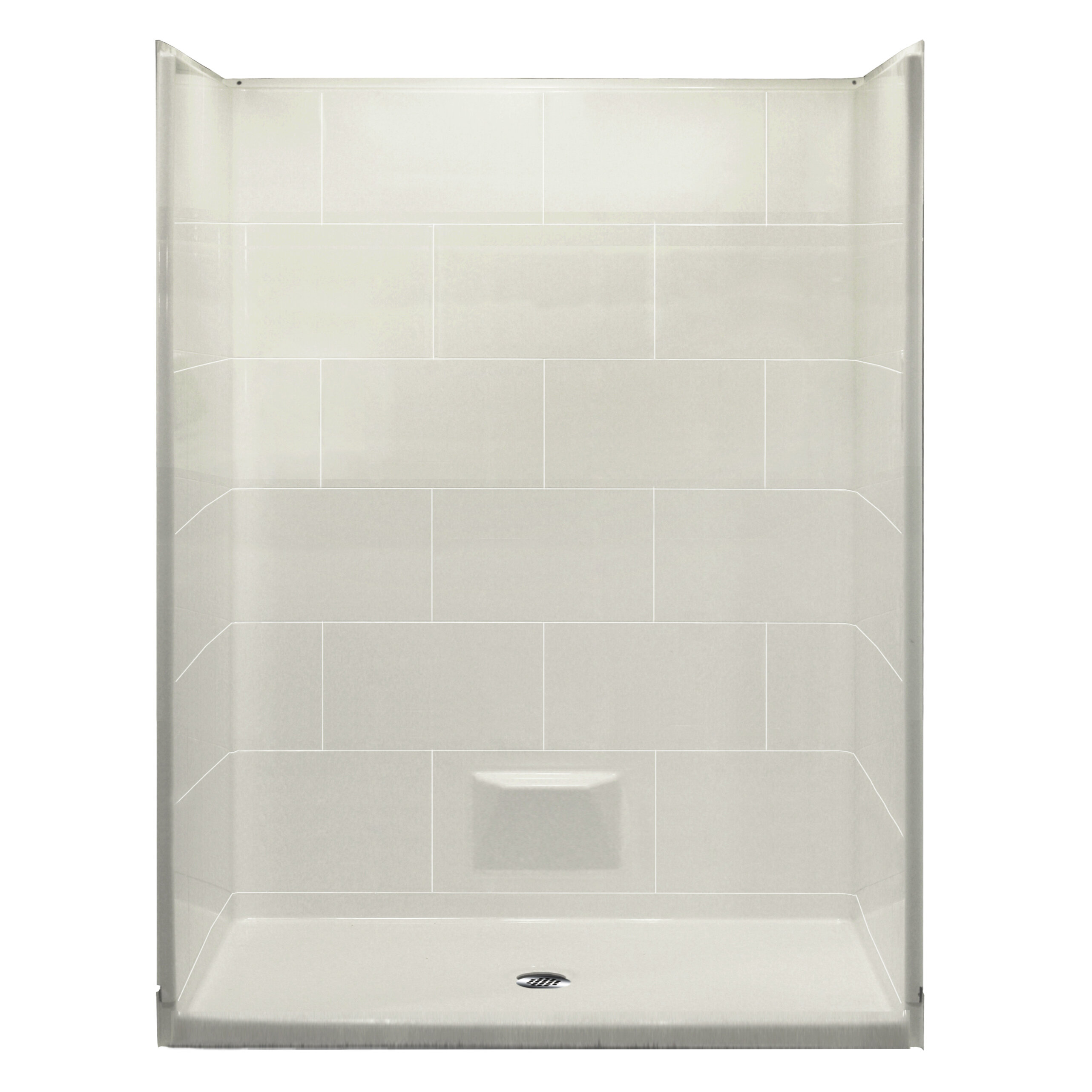 Ella Walk In Bath Plus 36 Shower Wall Kit | Wayfair