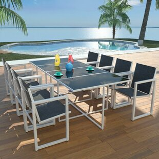 Pandora 8 Seater Dining Set By Sol 72 Outdoor