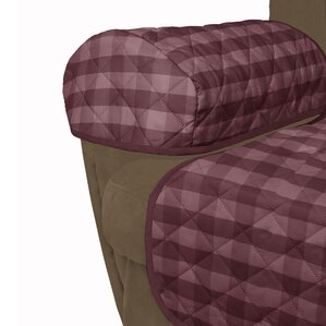 Buffalo Check T-Cushion Recliner Slipcover b..