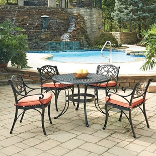 Six 5 Piece Dining Set with Cushions