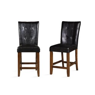 Marshfield 24 Bar Stool (Set Of 2) by Winston Porter Best