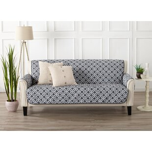 Box Cushion Sofa Slipcover by George Oliver 2019 Coupon