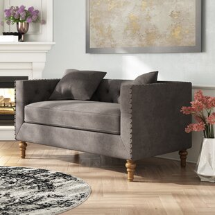 Croyd Chesterfield Loveseat
