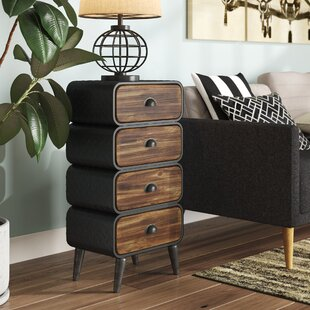 Krish Rounded 4 Drawer Chest ByWilliston Forge