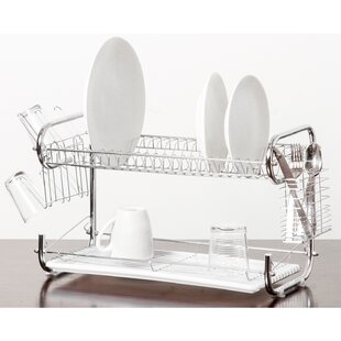 Imperial Home Organizer 2 Tier Holder Drainer Dish Rack