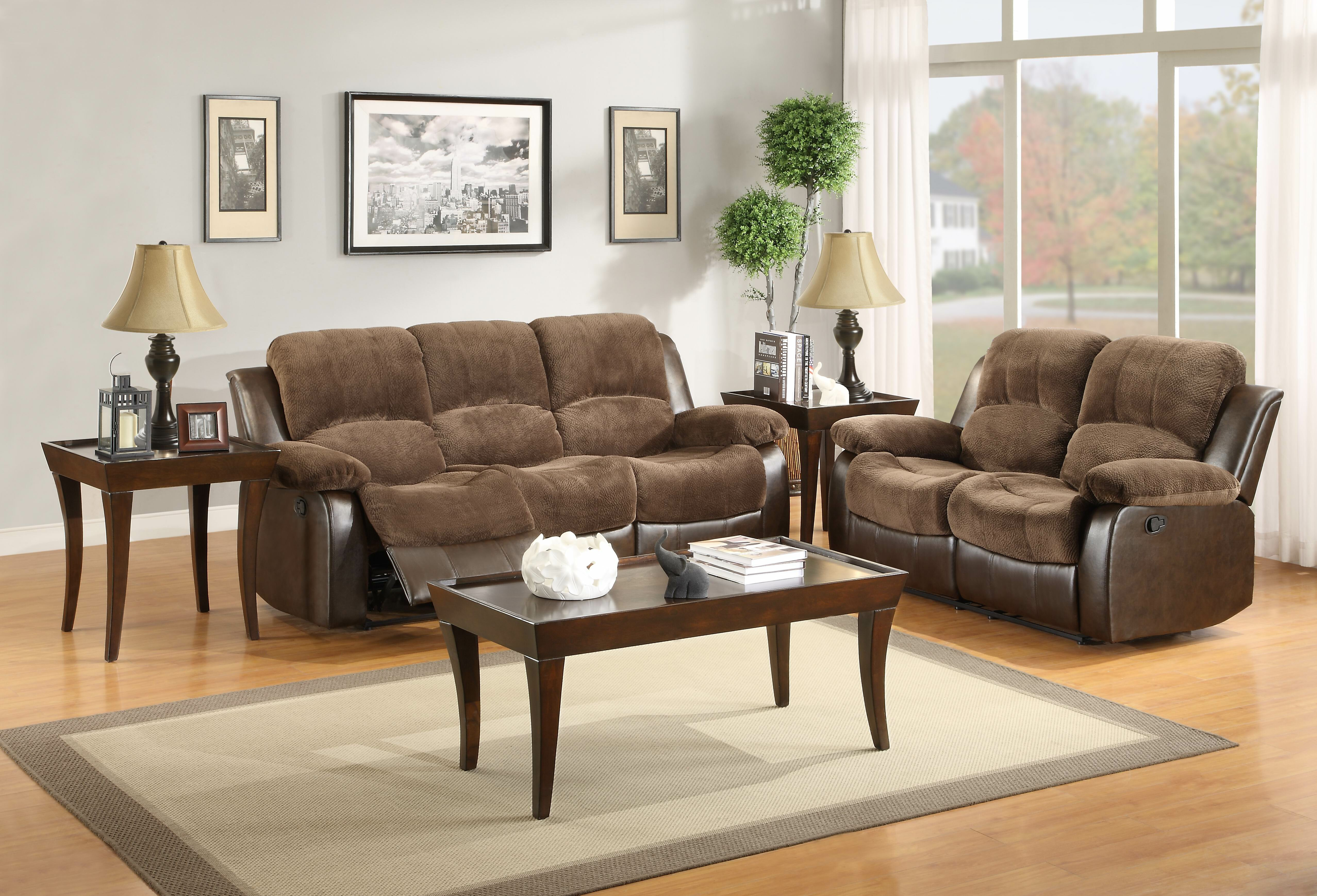 Reclining Configurable Genuine Leather
