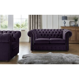 Tamesbury 2 Seater Chesterfield Sofa By Ophelia & Co.