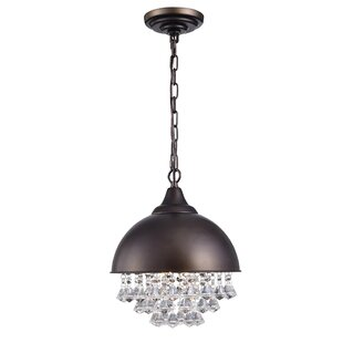House of Hampton Stanton 1-Light Inverted Pendant