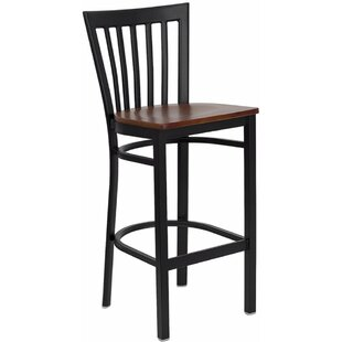 Dryden Modern 29 Bar Stool Red Barrel Studio