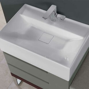 Ronbow Stack Ceramic Rectangular Drop-In Bathroom Sink