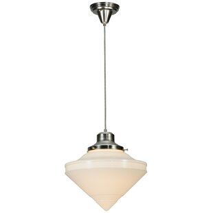 Meyda Tiffany Revival Deco Cone 1-Light S..