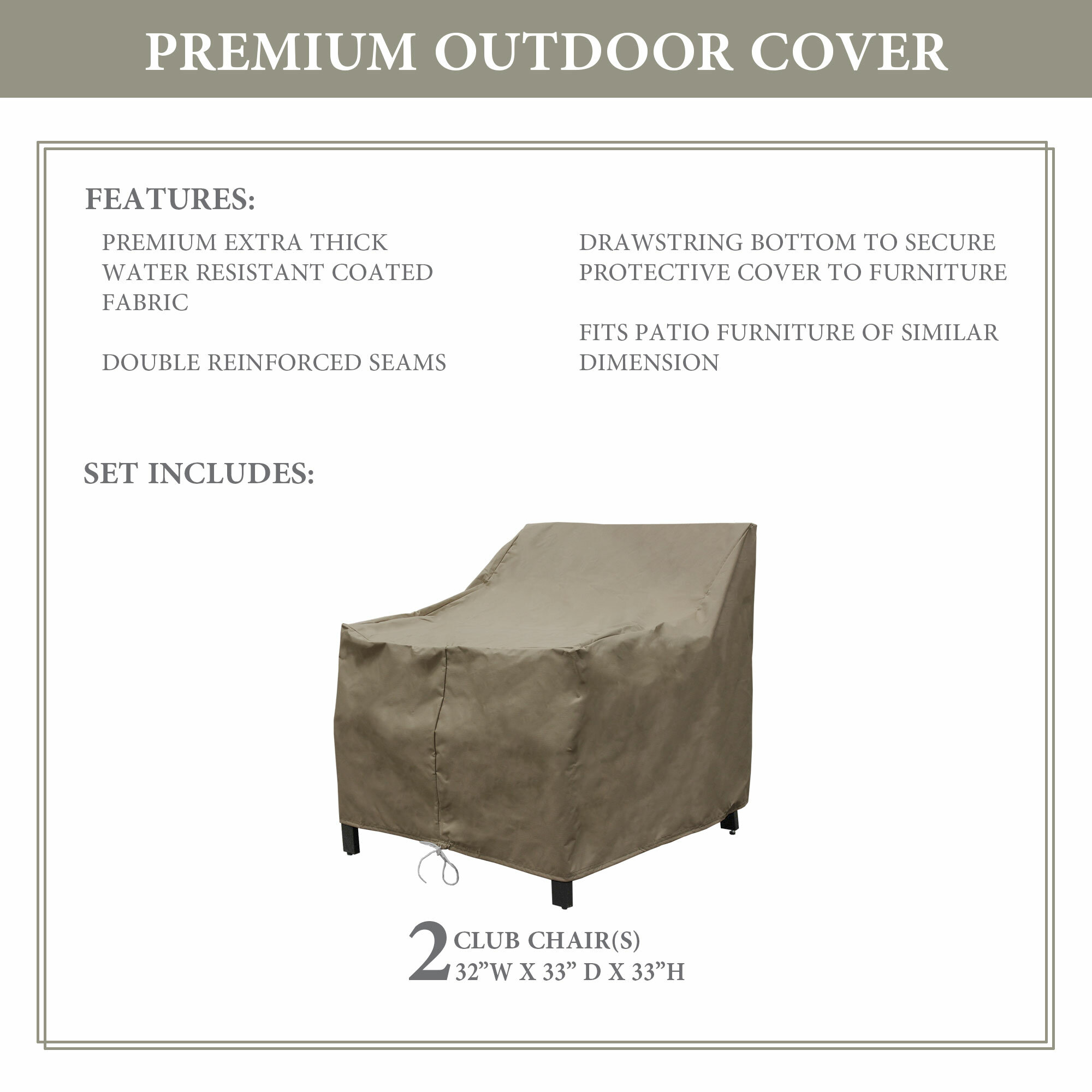 Kathy Ireland Homes Gardens By Tk Classics Madison Protective Water Resistant Patio Chair Cover Reviews Wayfair