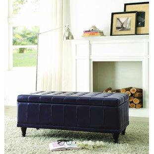 Alcott Hill Cafferata Upholstered Storage Bench