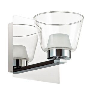 Latitude Run Estell 1-Light LED Bath Sconce
