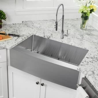 Barclay Jolie Farmer 32 X 19 Double Basin Farmhouse Kitchen Sink Reviews Wayfair