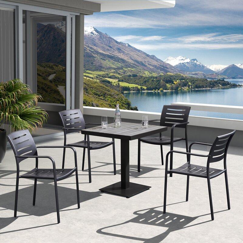 Roda Outdoor Dining Table - Darby Home Co Roda Outdoor Dining Table & Reviews Wayfair
