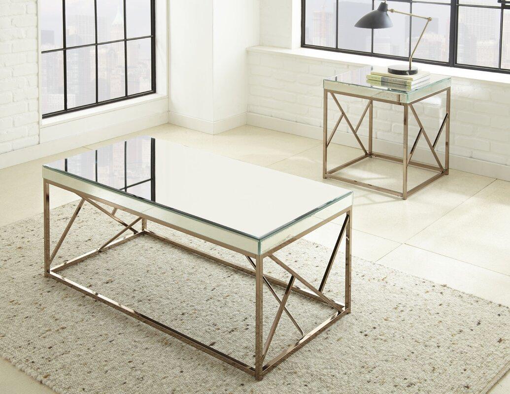 Flori 2 Piece Coffee Table Set