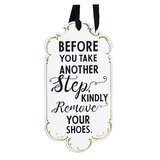 Ornate Remove Your Shoes Wall Decor by Ebern Designs
