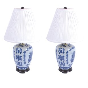 Ceramic Urn 24.5 Table Lamp (Set of 2)