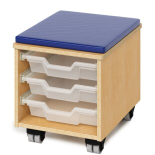 Teachers Rolling Stool With Tray