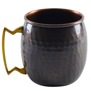 Antique Mini Mug 2 oz. Copper (Set of 4)