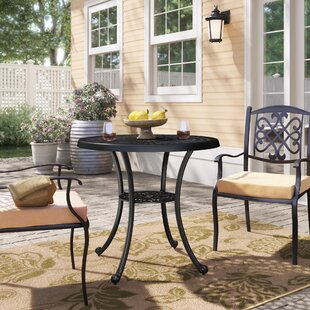 Kelty Metal Dining Table by Charlton Home