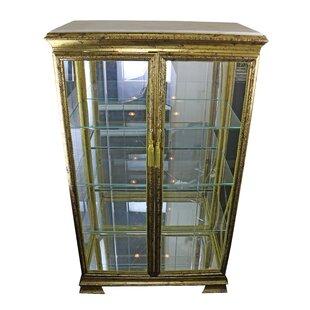 Astoria Grand Schoen Lighted Curio Cabinet