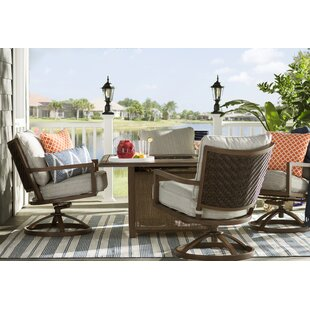 Laurel Foundry Modern Farmhouse Barrand 5 Piece Dining Set with Cushions