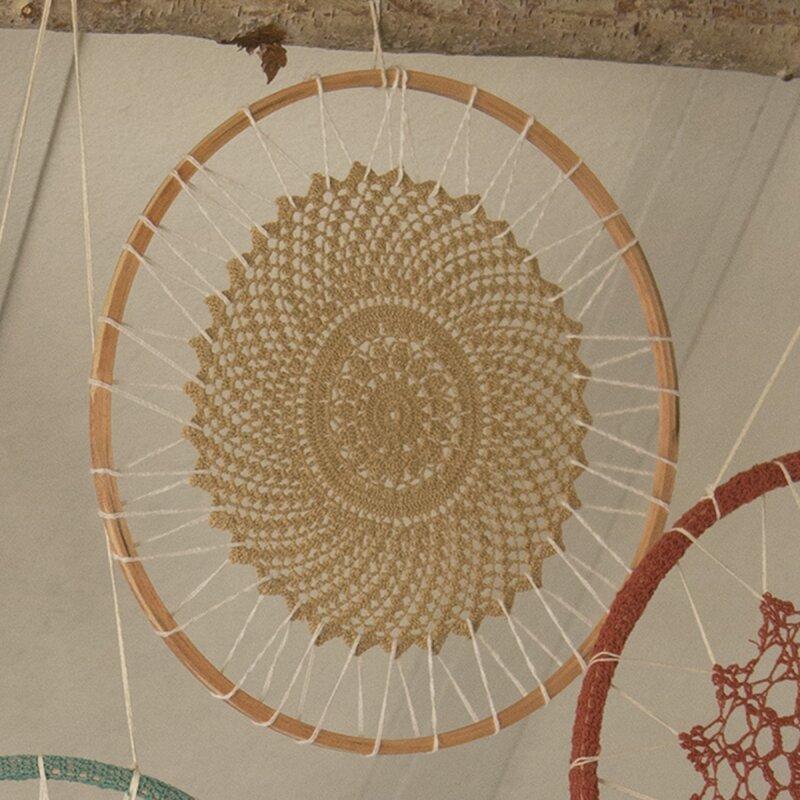 Crochet Dream Catcher Cotton Wall Décor Reviews Joss Main