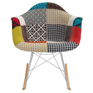 Best Choices Padded Patchwork Rocking Chair by Edgemod Reviews (2019) & Buyer's Guide