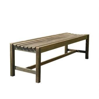 Remarkable Wirksworth Wooden Picnic Bench Reviews Allmodern Ibusinesslaw Wood Chair Design Ideas Ibusinesslaworg