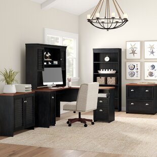 Beachcrest Home Oakridge 5 Piece Office Set