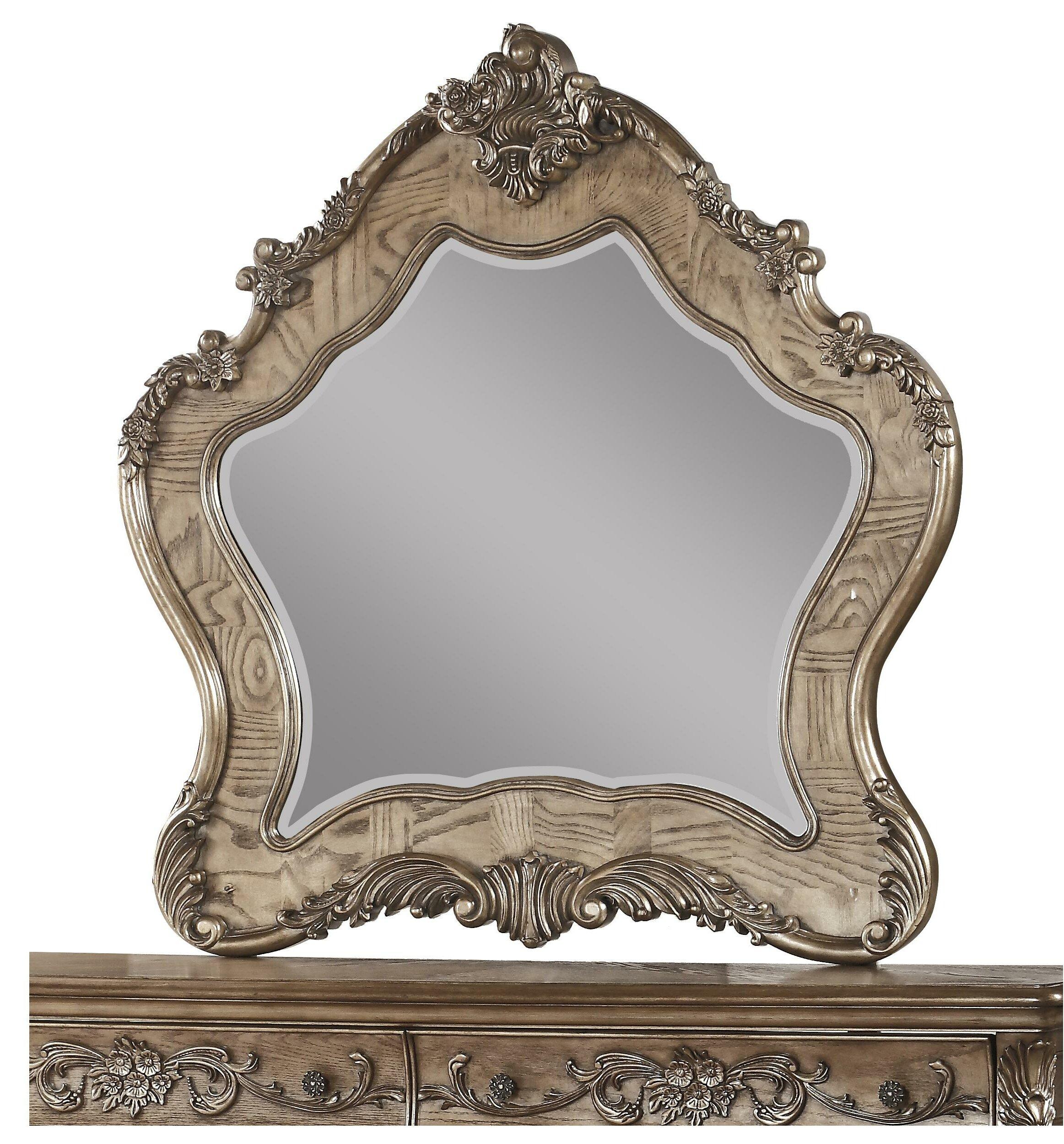 Astoria Grand Kaczmarek Wooden Traditional Accent Mirror Wayfair