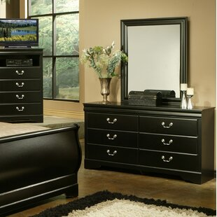 Union Rustic Lehn 6 Drawer Double Dresser wi..