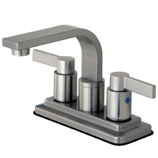 NuvoFusion Centerset Bathroom Faucet with Drain Assembly ByKingston Brass