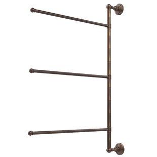 Marnisha 3 Swing Arm Vertical Wall MountedTowel Bar