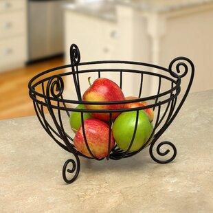 Scroll Deluxe Fruit Basket