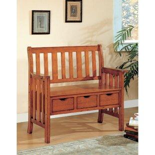 Kersten Wood Storage Bench..