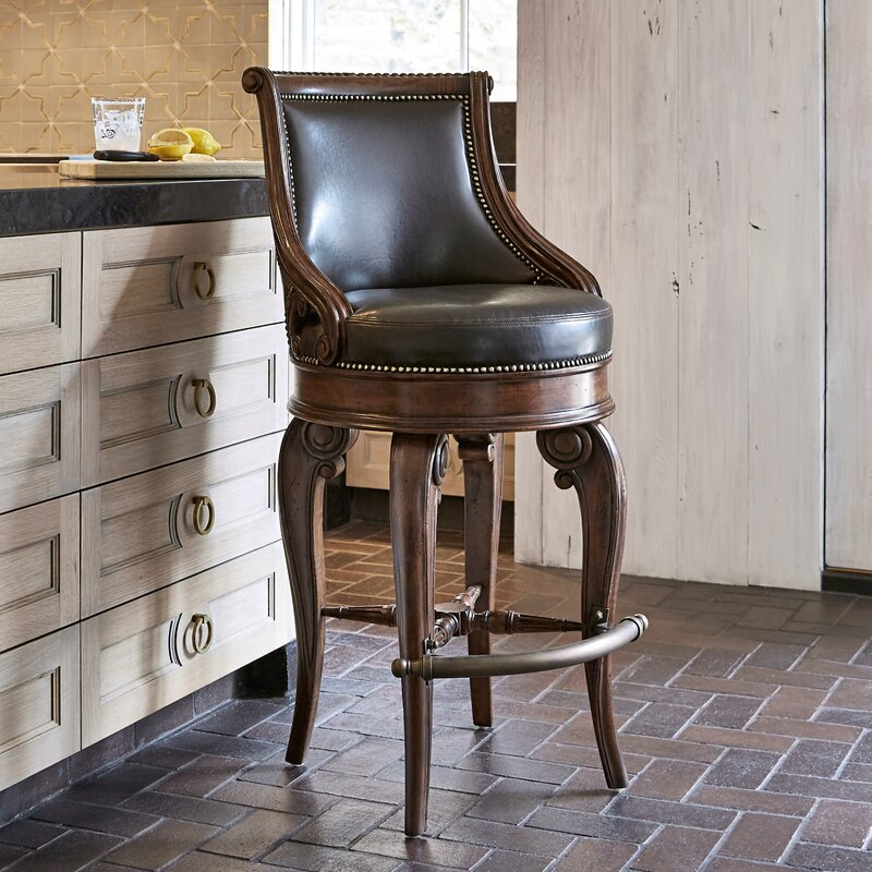 Ambella Home Collection Tatum Swivel Bar Stool