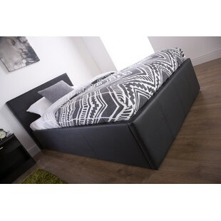Double Ottoman Bed With Mattress Black Wide Varieties Beds & Mattresses Beds With Mattresses